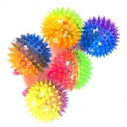 Flashing Spiky ball (светодиодный, прыгающий мяч)